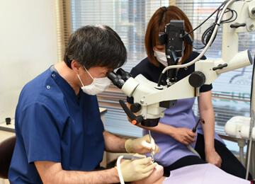 わかりやすい歯科治療と培われた歯科技術